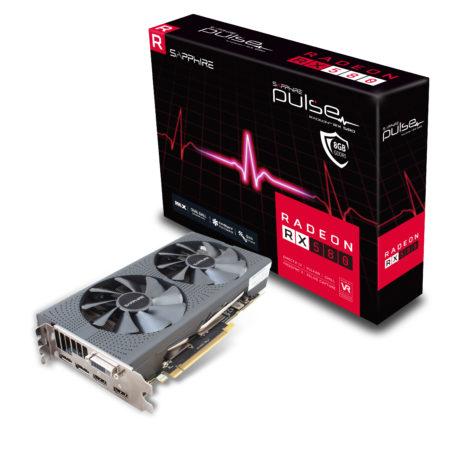 Placa de Video Sapphire Pulse Radeon RX 580 8GB