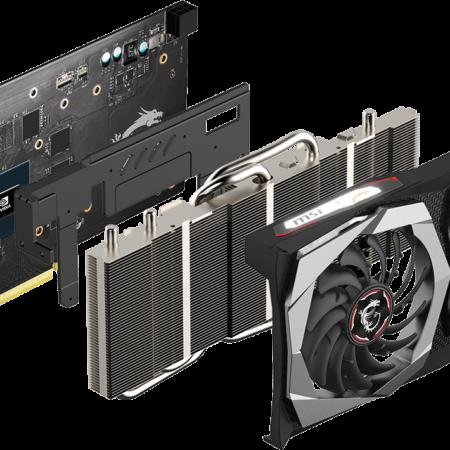 Placa de Video MSI Nvidia Geforce GTX 1650 Super Gaming X Gddr6 4GB